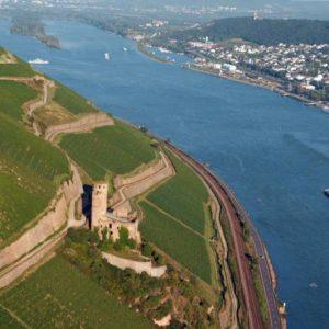 Rundflug über den Rheingau mit Dross:Air