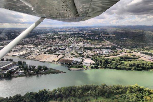 Rheinhessen Rundflug mit Dross:Air