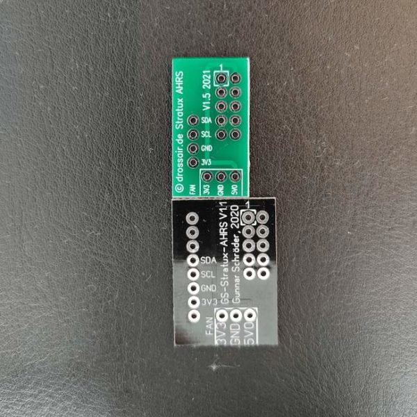 V1.5 – original Stratux AHRS/ Pressure sensor board mount