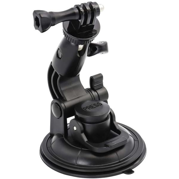universal Suction Cup Holder for Stratux Flarm, GoPro or Insta360